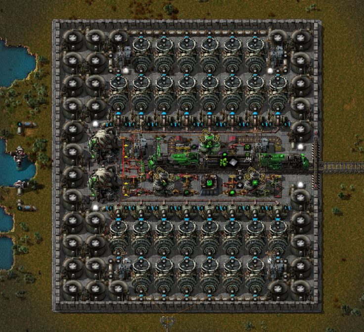 The EasyBake Nuclear Oven factorio Easy baking, Nuclear