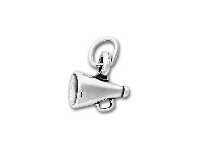 Sterling Silver Megaphone Charm