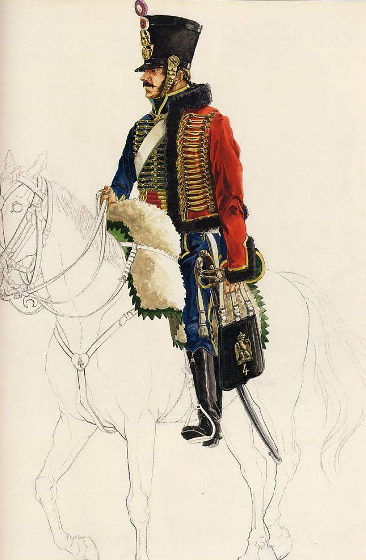 Les cavaliers de la Grande Armée :: 4ème Hussards