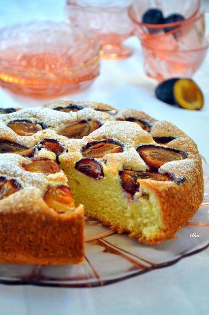 In my coffee kitchen: ciasta z owocami-śliwki