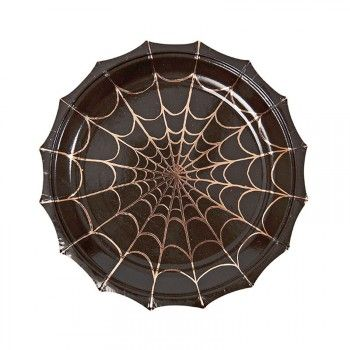 Spiderweb Party Plates : The Party Cupboard : Online Halloween Shop Australia | The Party Cupboard