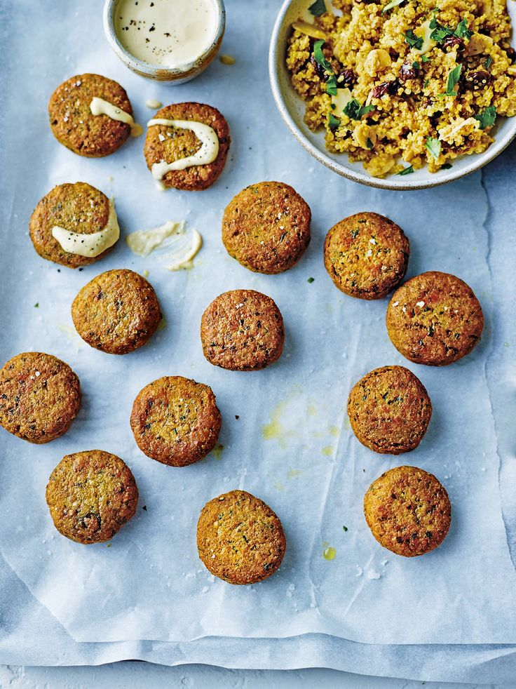 Dale Pinnock's healthier falafel recipe combines anti-viral garlic and zinc-packed chickpeas, making it good for immune health.