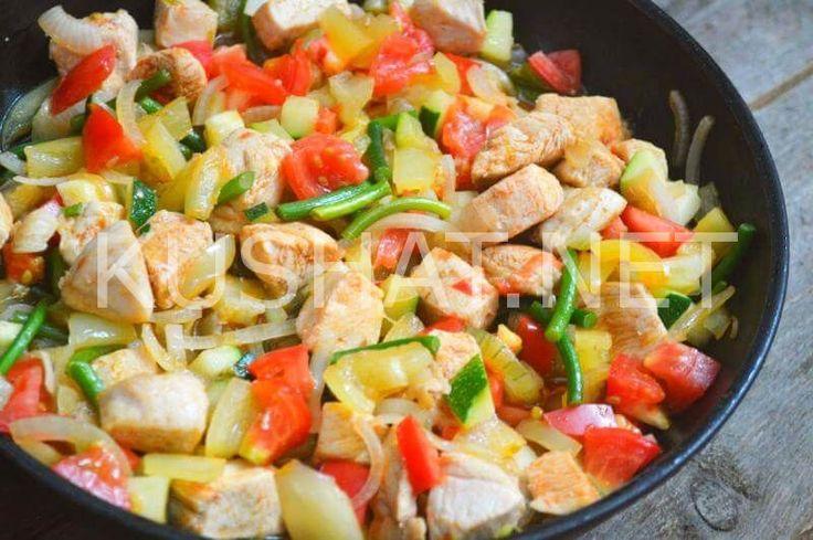 Тушеное мясо с овощами. Пошаговый рецепт с фото