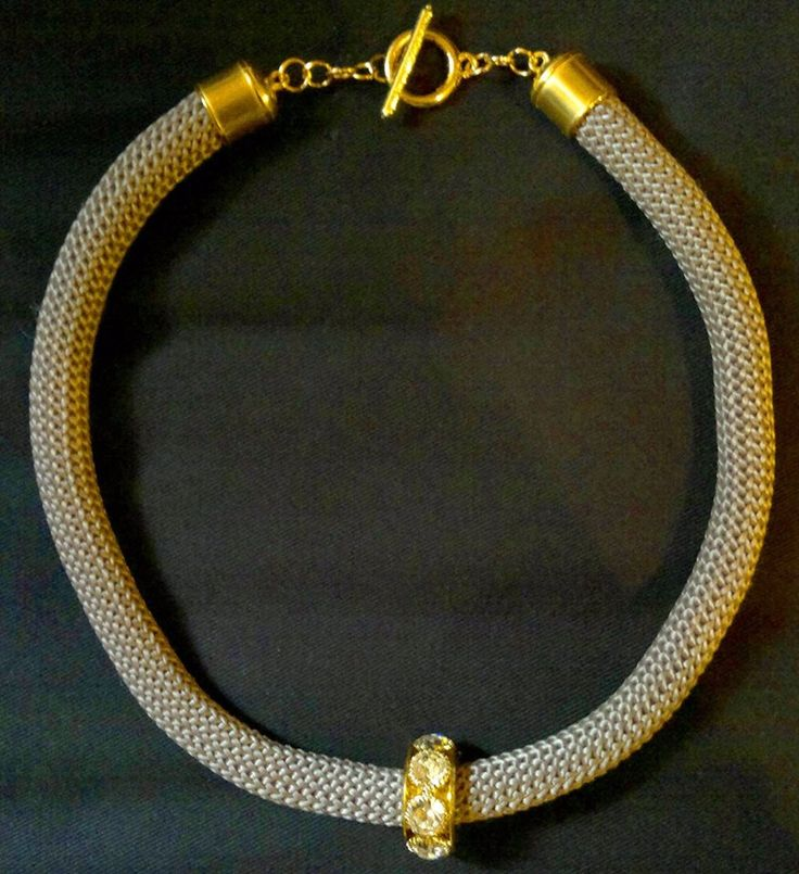 gold element necklace