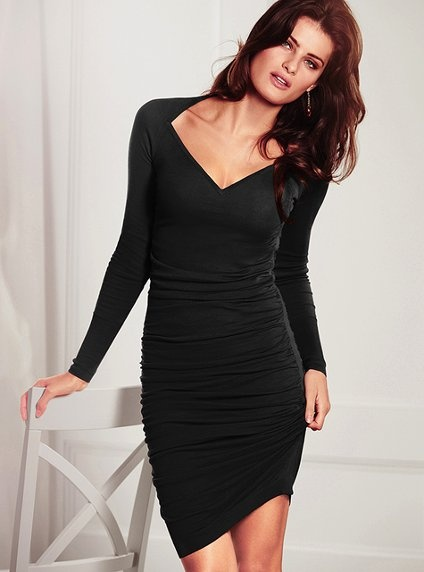 Ruched Sweaterdress - Victorias Secret