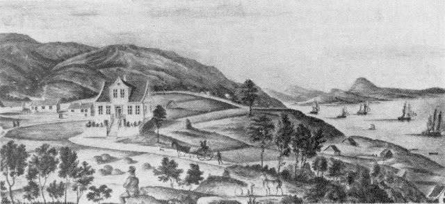 Der Holen Bryggeri  lå var en del av Damsgård, en gård i Laksevåg utenfor Bergen,  i 1723 skilt ut som eget gårdsbruk. Det vokste sakte, og i 1823 ble det bygget et større hus som daværende eier benyttet seg av som sommersted. I 1857 ble gård og bygninger solgt på auksjon til Johan E. Mowinckel, som kort tid etter overtakelsen av gården døde. Ny auksjon ble holdt, den danske bryggerimester Christopher Helmers kjøpte gården 29. mai 1858 for 5800 spesidaler. Helmers startet et bryggeri på…