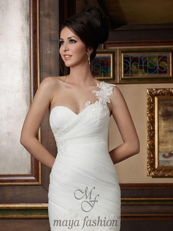 Rochie Mireasa M 51.14 - http://www.mayafashion.ro/colectia-exclusive-2014.php