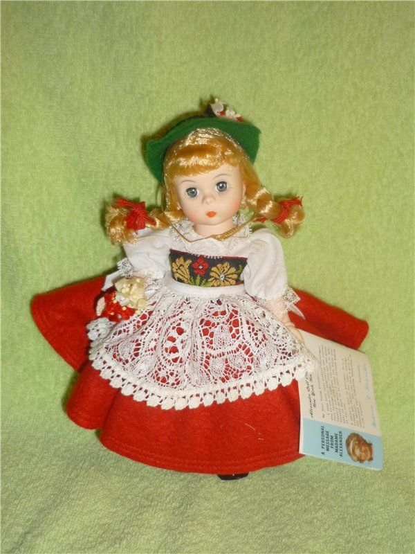 "Кукла Madame Alexander ""Швейцария"""