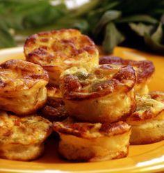 Bouchées aux poireaux et parmesan - les meilleures recettes de cuisine d'Ôdélices
