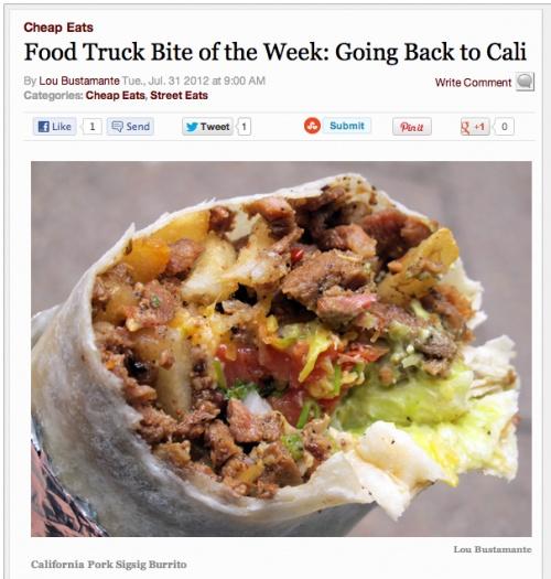 Sisig City Food Truck Nyc