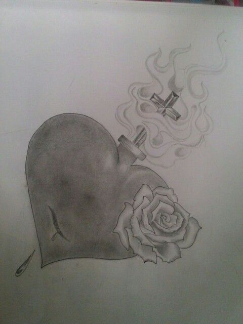 Thanks to some guy who had a tattoo of this. I just tried to draw it on paper as i wanted to try new flames