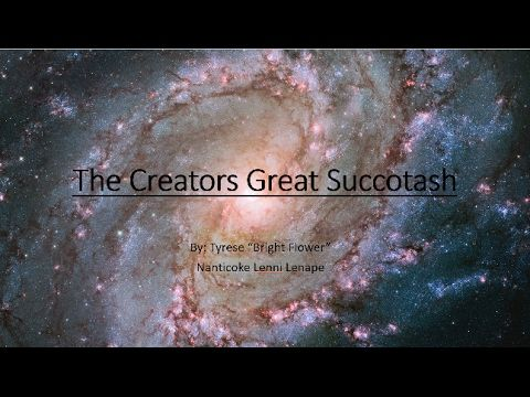 The Indigenous Way: The Creators Great Succotash, Lenape Story of Crea...
