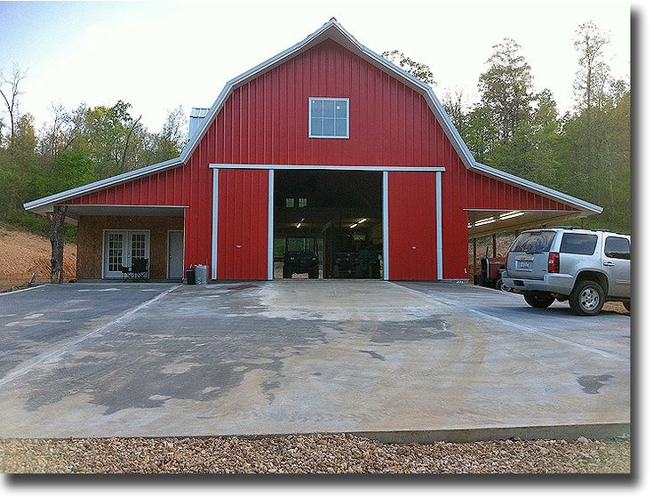 The 25 best gambrel barn ideas on pinterest gambrel for Gambrel pole barn plans