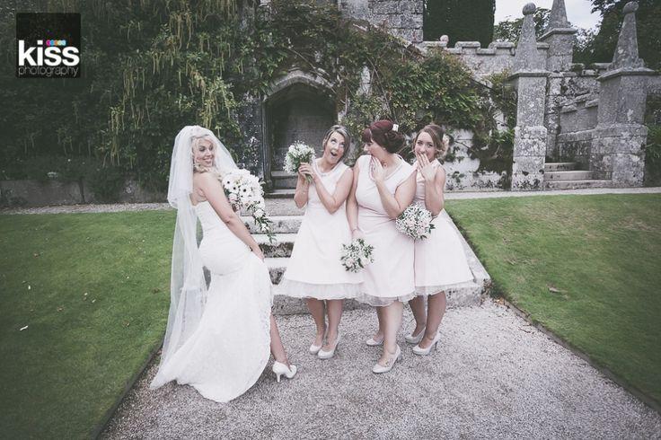 Llanhydrock wedding