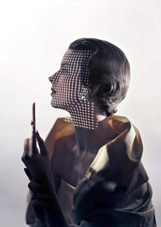 Erwin Blumenfled - 1949 - Mode (ERWIN BLUMENFELD, VOGUE MAY 1949: model ruth knowles.)