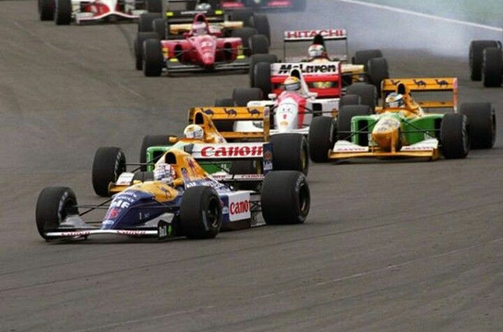 GP Gran Bretaña 1992