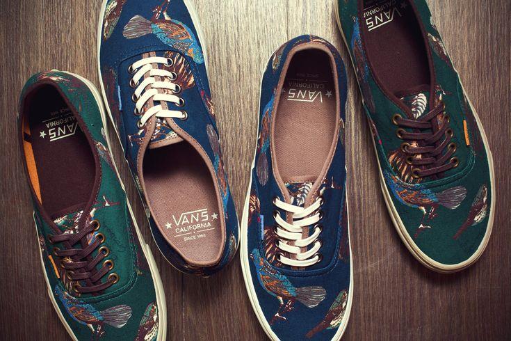 "Vans California 2012 Fall/Winter ""Birds"" Authentic CA Pack"