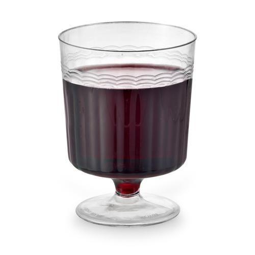 8 oz wine or parfait glasses gettin 39 hitched our wedding pinterest plastic dr oz and wine - Plastic sangria glasses ...