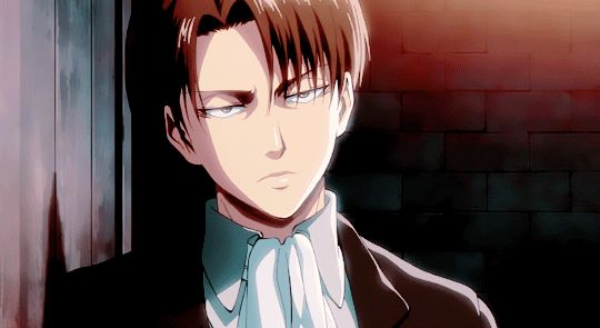 Holy shit Levi! How are you so handsome!? KMS I WISH HE WERE REAL