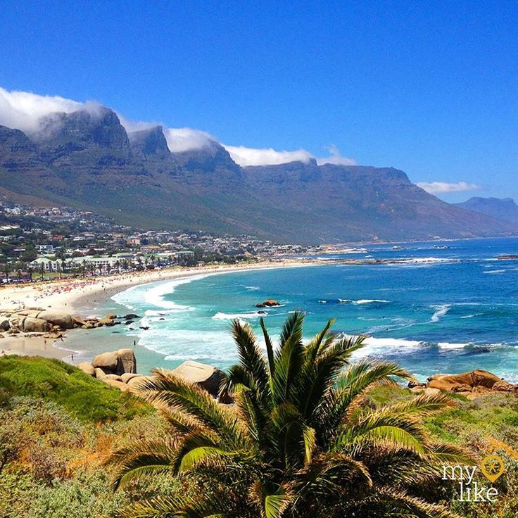 """""""Camps Bay is the best known #beach in #capetown and a #tourist hot spot, located between #clifton, the #twelveapostles and #llandudno with an excellent…"""""""