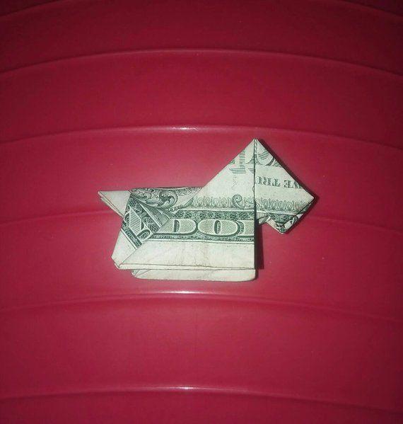 Dollar Bill Origami Animal – Money Dog