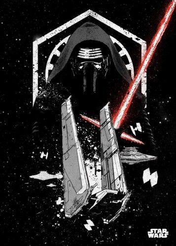 kylo ren knight upsilon command shuttle jakku star wars pilots lucas first order StarWars
