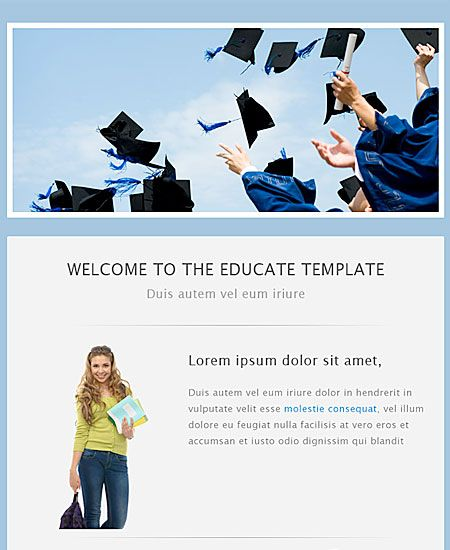 Best Email Template Designs Images On   Email Template