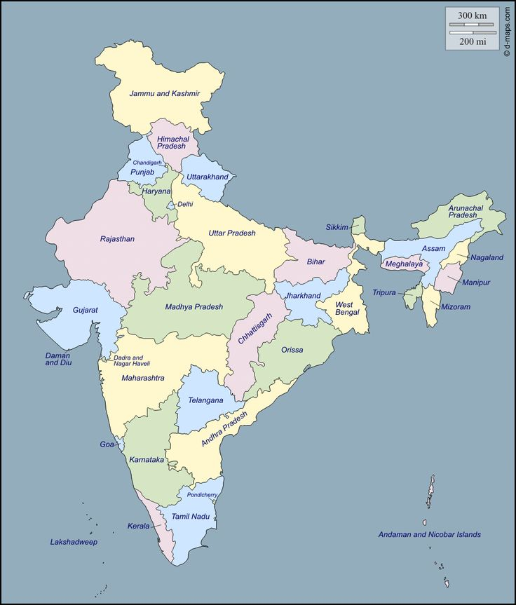 Map Of India With States Name India Map With States Name | Bedroom 2018