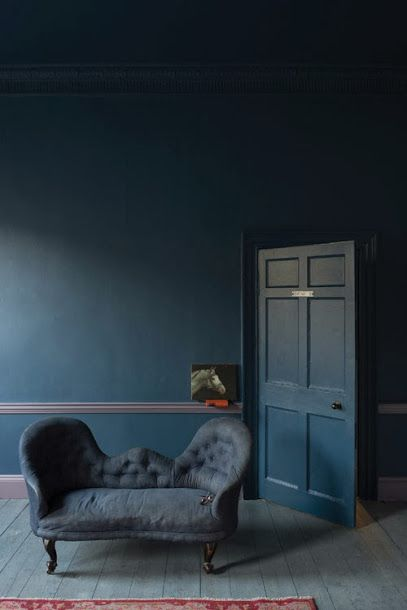 Farrow & Ball's Stiffkey Blue