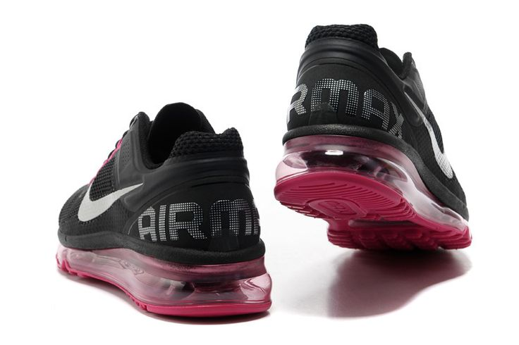 Nike Air Max 2013 Womens Black Dark Grey Fusion Pink Metallic Silver 555753 001 [toms for sale 1024] - $59.66 : Toms Outlet,Cheap Toms Shoes Online