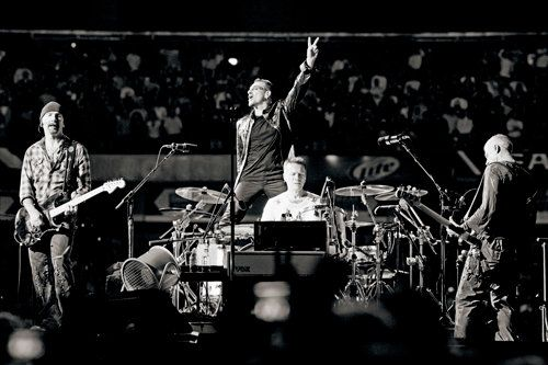 U2, Roundhay Park, Leeds, 1993