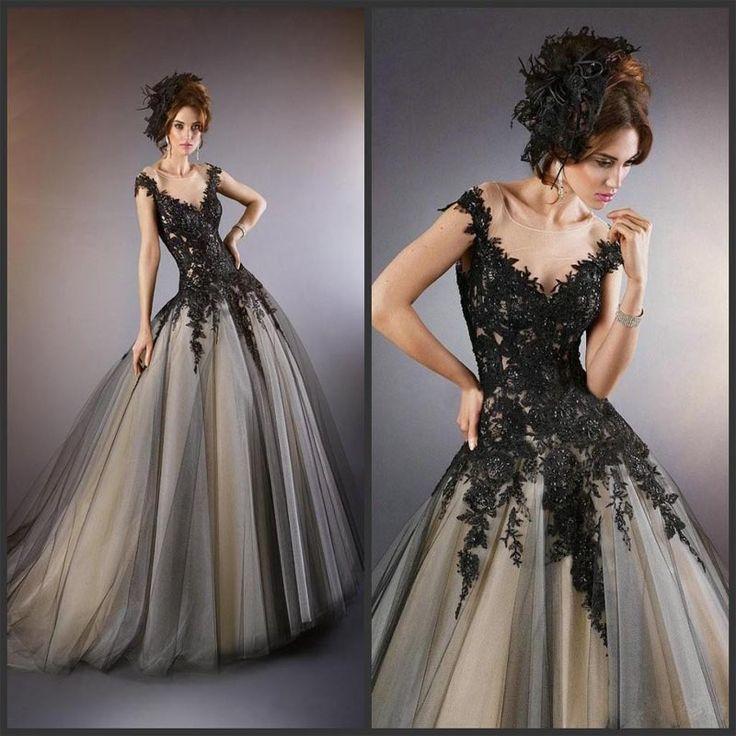 Plus Size Vintage Spitze überbacken Hochzeitskleid