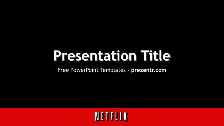 Netflix Powerpoint Template  Powerpoint Templates