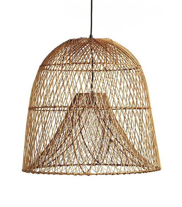 Interior Designers Share The Best Pendant Lighting For Kitchens Pendant Light Basket Lighting Light