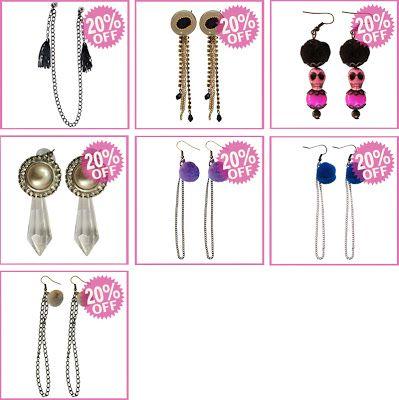 earrings on sale off