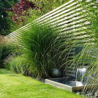 Privatgarten – Fam. Ch: moderner Garten von BEGRÜNDER   – Gartendeko