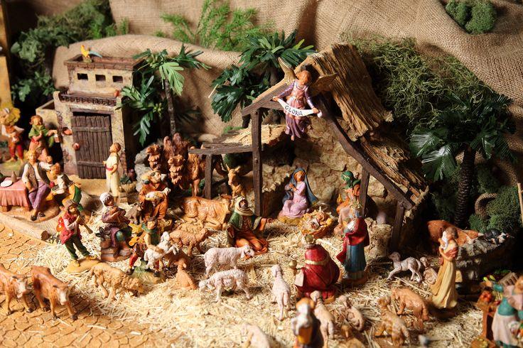 Fontanini Nativity Display at St. Ann Catholic Church 2014-2015