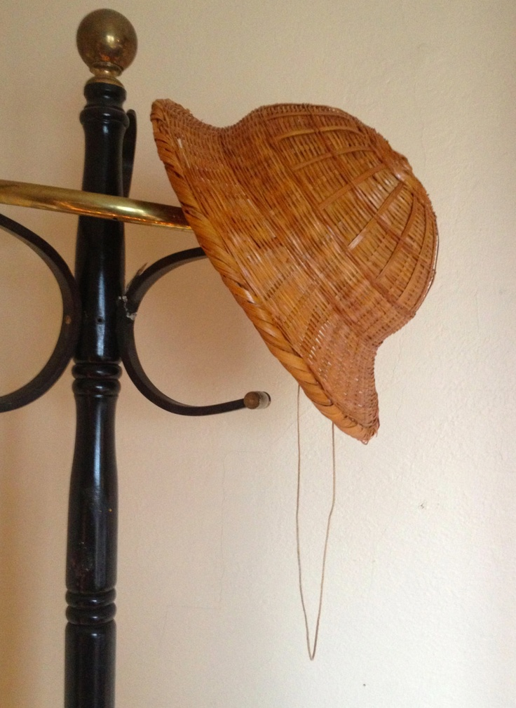 Antique Wicker Beekeeper's Hat/Pith - give it to a vintage lover as a gift with some honey?