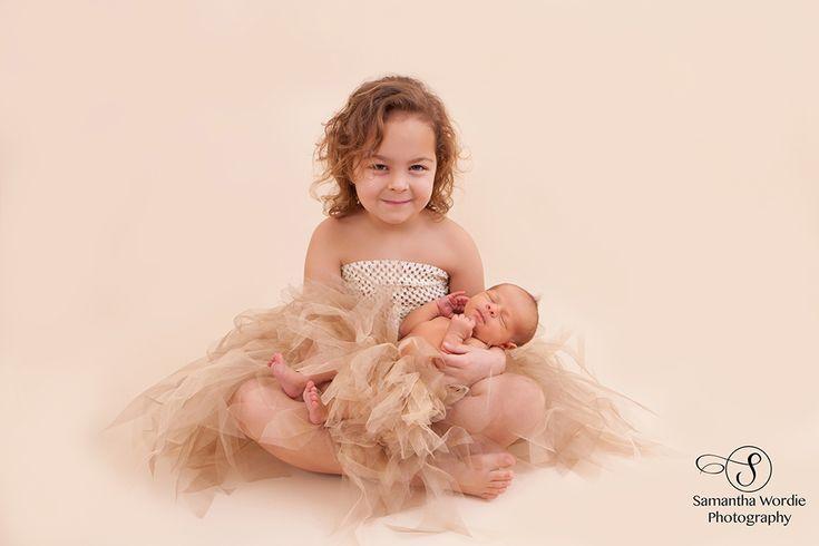 Newborn Photography, Newborns and Siblings, Child photography, Tutu, Samantha Wordie Photography