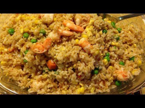 Arroz rojo - Mexican rice - Recetas de cocina mexicana - YouTube
