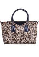 leopard prints www.misstella.com - Handbag/cross body bag with leopard print - F02838 - 19,95