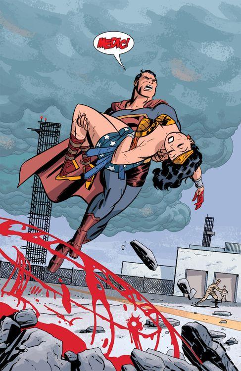 Pin de wonder comix master en cartoon ww movie jl new - Superman wonder woman cartoon ...