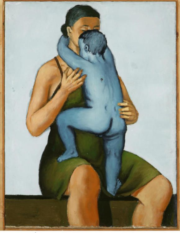 'Madre con niño muerto', 1949, Andrzej Wróblewski (Colección Grazyna Kuclzyk, Poznan)