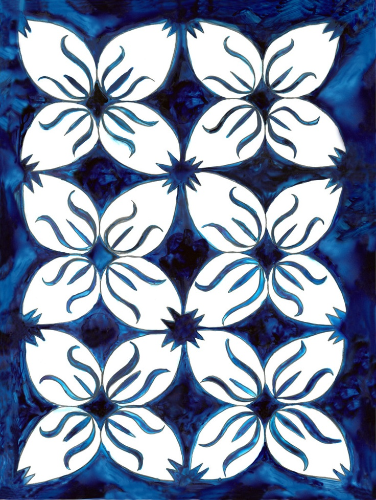 Pacific Island Patterns And Designs