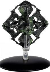 Eaglemoss EMST0109 Star Trek Borg Queen's Vessel [With Collector Magazine]