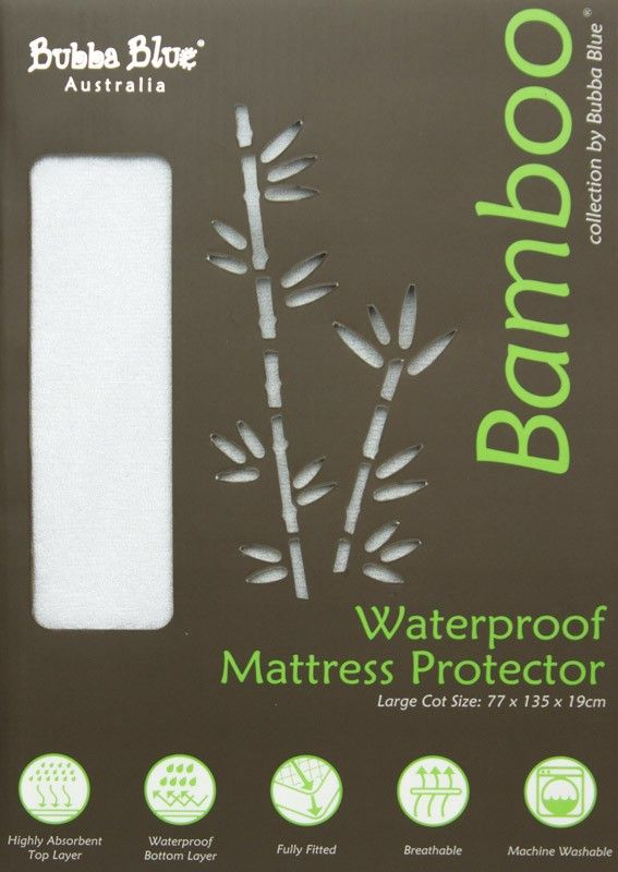 Bubba Blue Cot Mattress Protector Large