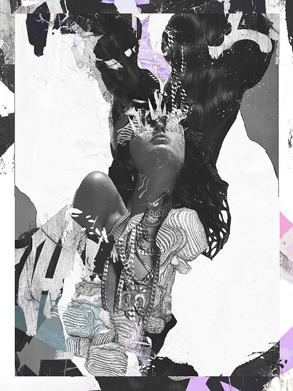 Mood Collages by Raphael VicenziBorn in 1972, Raphael Vicenzi is a self-taught…