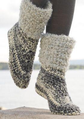 Hold tæerne varme med disse dejlige tøfler