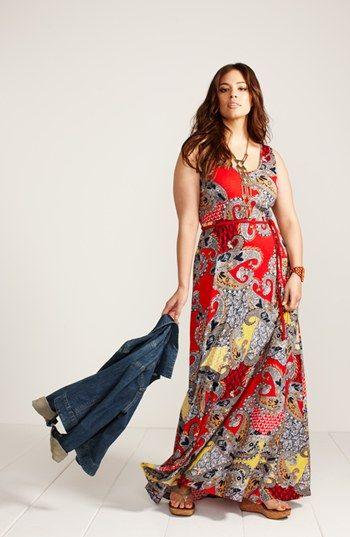 Lucky Brand Maxi Dress #plussize