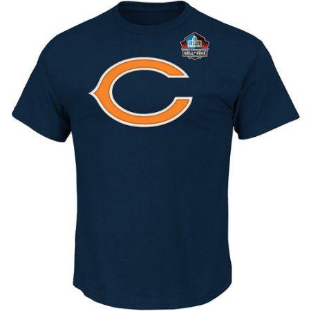 NFL Big Mens Chicago Bears Walter Payton Hall Of Fame Player Tee, Blue